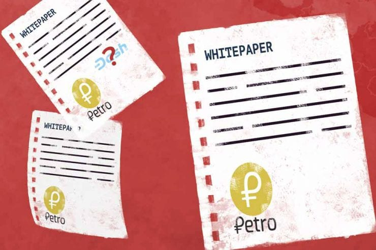 Venezuelan state-owned cryptocurrency Petro has apparently