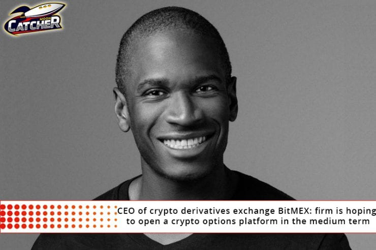 CEO of crypto derivatives exchange BitMEX: firm is hoping to
