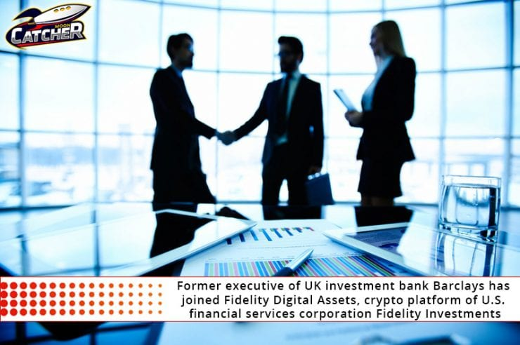 Former executive of UK investment bank Barclays has joined