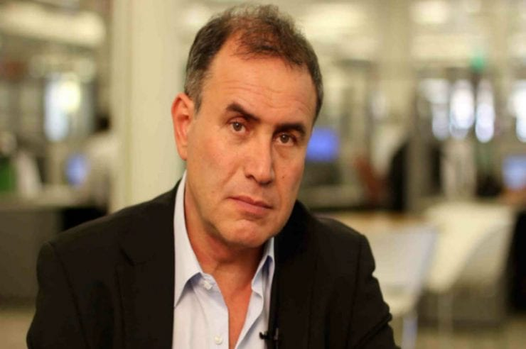 Nouriel Roubini has furiously demanded the release of a